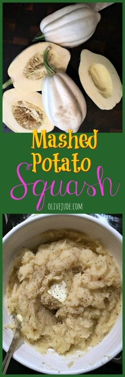 Mashed Potato Squash