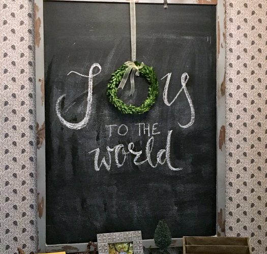 DIY: Oversized Magnetic Chalkboard