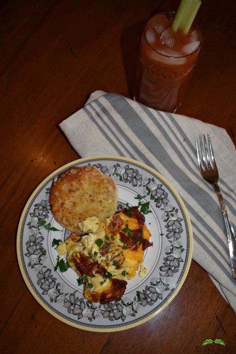 Make ahead egg casserole