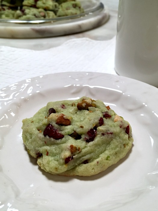 Quick and Easy Cranberry Pistachio Cookies