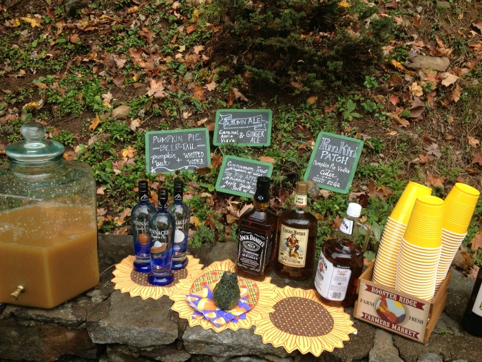 Outdoor Fall Party for Kids and Parents