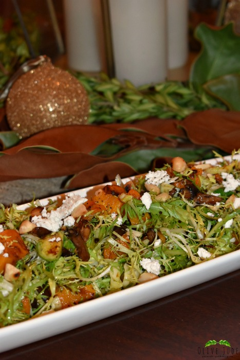 Frisee Salad with Warm Mushrooms