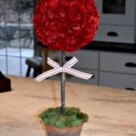 DIY: Make Your  Own Valentine's Topiary
