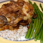 Weeknight Golden Mushroom Baked Chicken
