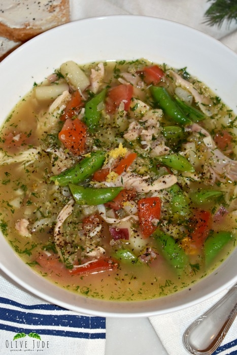 30 Minute Chicken Soup