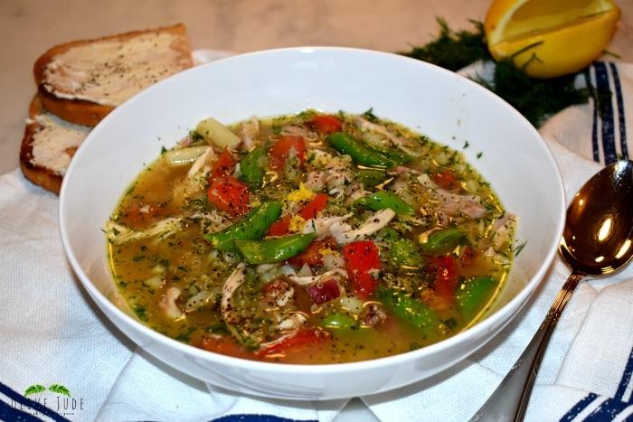 30 Minute Chicken Soup