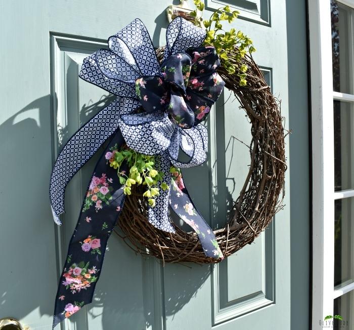 Spring Wreath Bow