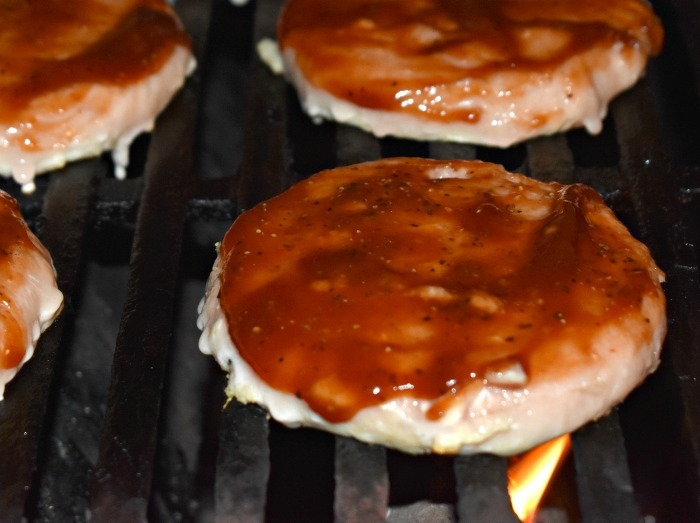 Mega Turkey and Smoked Gruyere BBQ Burgers