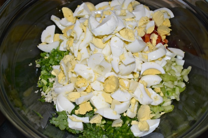 Mexican-style Egg Salad