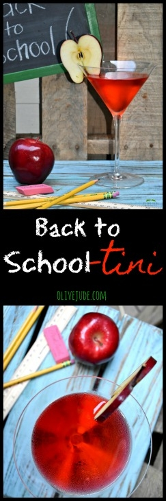 Back to School-tini