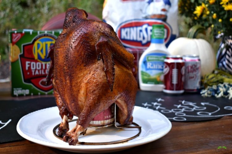 A Grill-Gate GameDay Gathering featuring Dr Pepper Can Chicken
