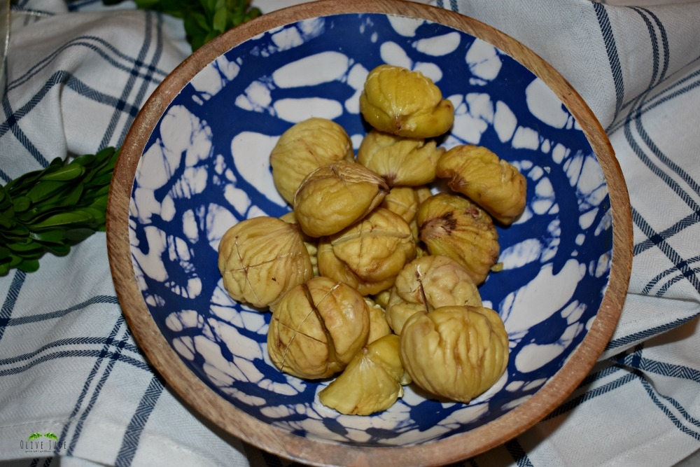 Sweet and Tender Oven Roasted Chestnuts