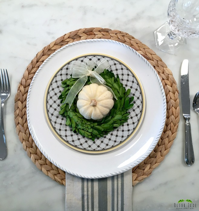 Mixing and Matching You China with White Plates