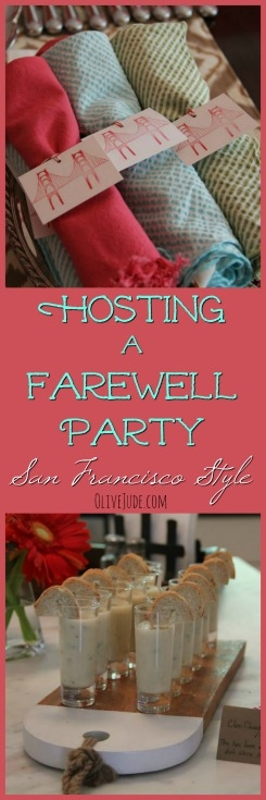 Hosting a Farewell Party: San Francisco Style