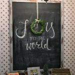 DIY: Oversized Magnetic Chalkboard