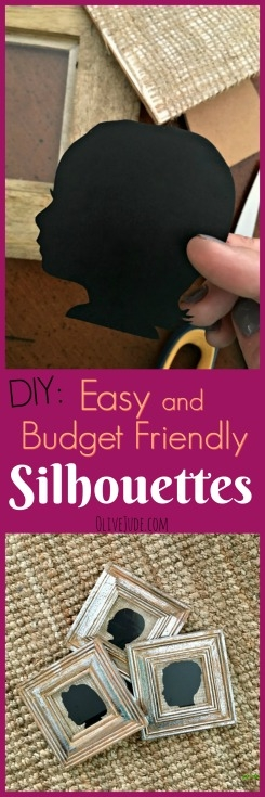 DIY: Easy and Budget Friendly Silhouettes