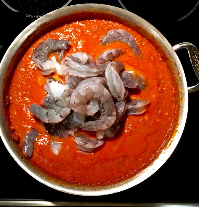Creamy bacon vodka sauce