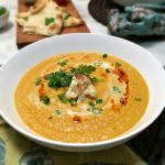 Creamy Coconut Curry Cauliflower Bisque