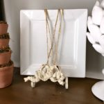 DIY: Quick Wall Art with Twine Wrapped Plates