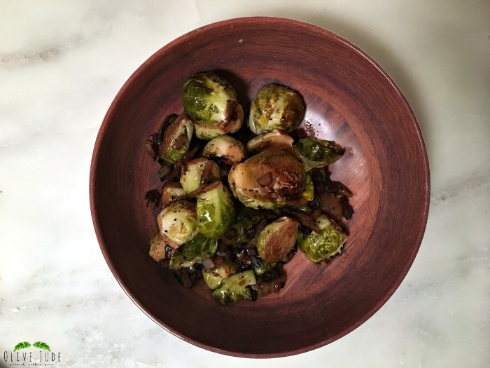 Brussel Sprouts in a Balsamic Reduction