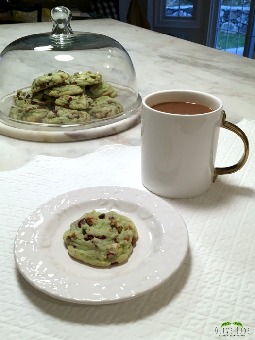 Quick and Easy Cranberry Pistachio Cookies