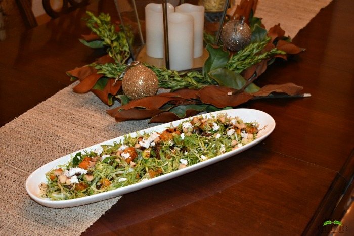 Frisee Salad with Warm Mushrooms