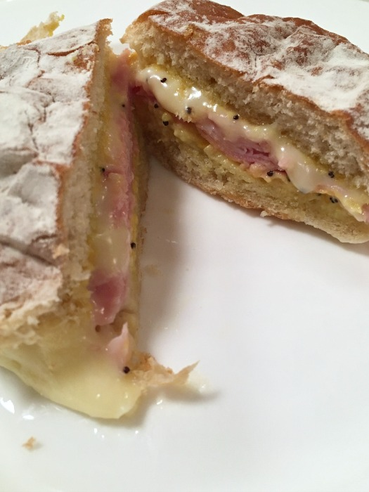 Baked Ham and Cheese Sandwiches