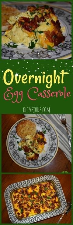Overnight Egg Casserole #eggcasserole #brunchrecipe #overnighteggcasserole #eggsforacrowd