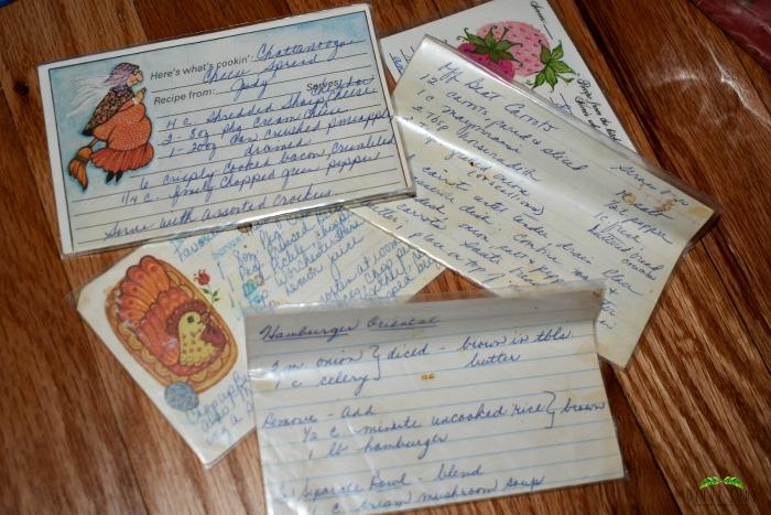 Vintage Recipe Cards