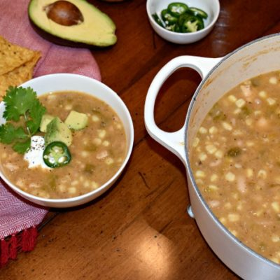 Weeknight White Chicken Chili