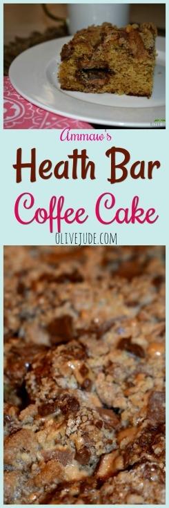 Ammaw's Heath Bar Coffee Cake