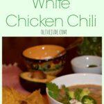 Weeknight White Chicken Chili
