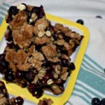 Blueberry Oatmeal Breakfast Bars #blueberrybars #breakfastbars #oatmealbars #blueberryoatmeal