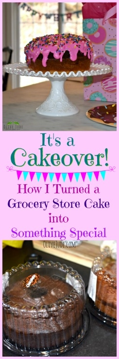 It's a Cakeover! How I Turned a Grocery Store Cake into Something Special