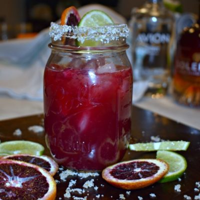 Boozy Blood Orange Margarita