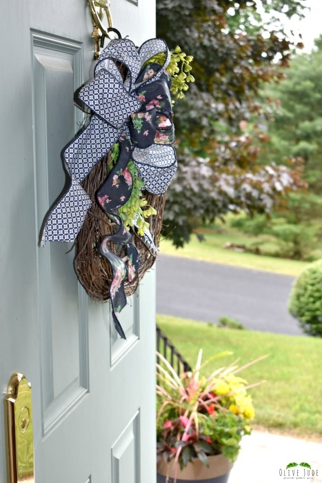 Spring Wreath Bow