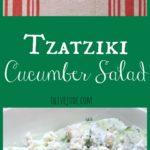 Tzatziki Cucumber Salad