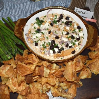 Loaded Party Hummus