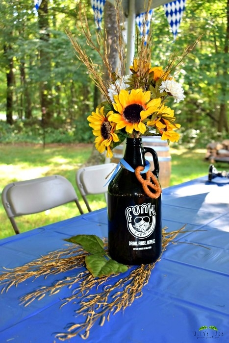 Growler Centerpieces