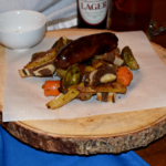 Sheet Pan Beer Brats and Vegetables : An Oktoberfest Dinner