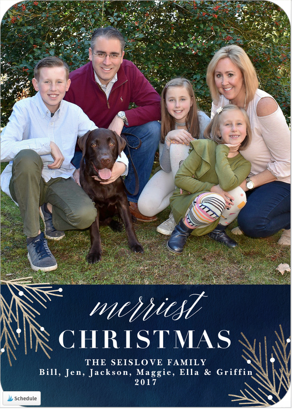simply to impress offers a huge variety of tasteful and attractive designs that are really easy to customize on both the front and the back - Simply To Impress Christmas Cards