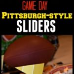 Game Day Pittsburgh-style Sliders #LittleBunsBigWin #RespectTheBun #BakedWithCare #ad @PepperidgeFarm