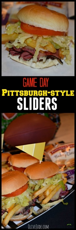 Game Day Pittsburgh-style Sliders