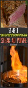 Simple Showstopping Steak au Poivre