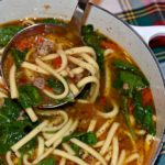 30 Minute Italian Sausage and Sweet Pepper Soup