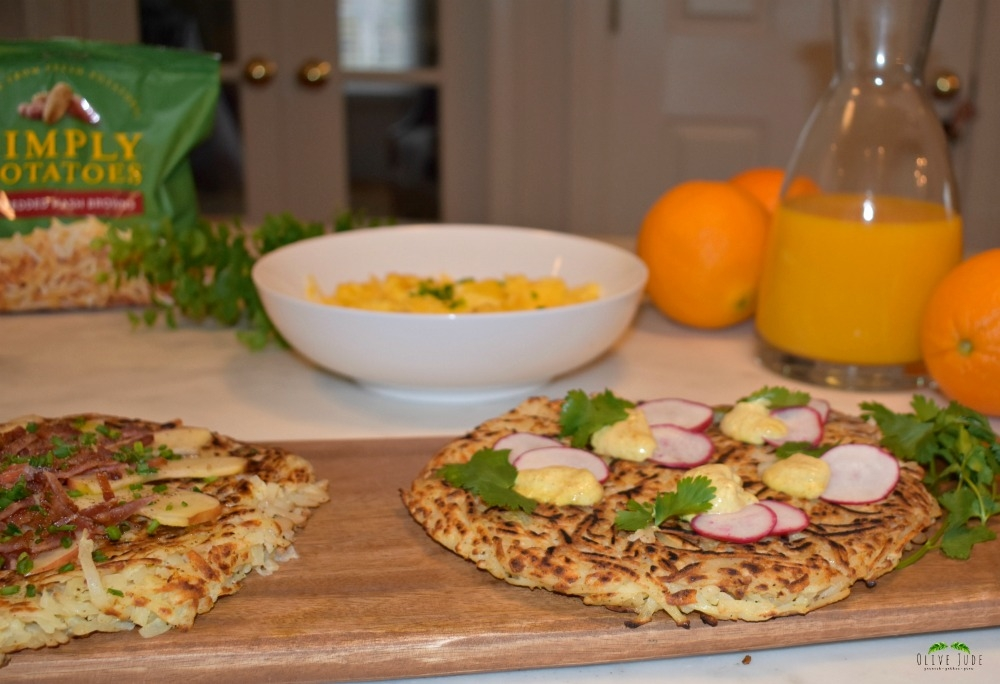 Potato Galette Brunch, 3 Ways #SimplyPotatoes #ad
