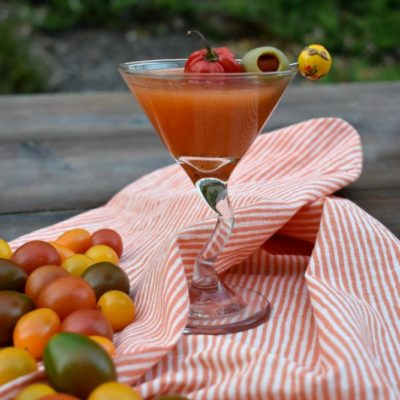 Hot Bloody Martini