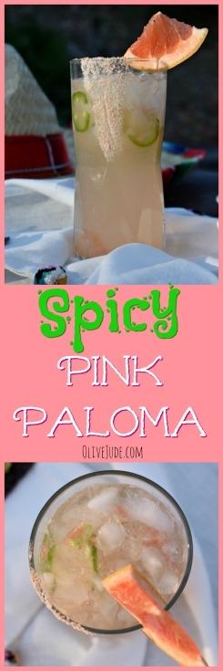 Spicy Pink Paloma: A Cinco de Mayo Cocktail