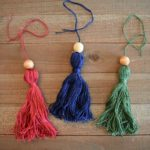 DIY: The Easiest Embroidery Floss Tassels
