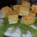 Toasted Cheese and Dill Hors d'oeuvres